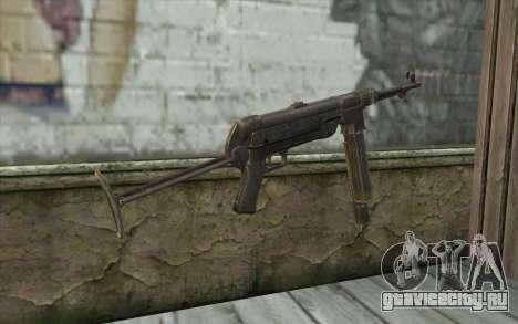 MP-40 Dual Mags для GTA San Andreas второй скриншот