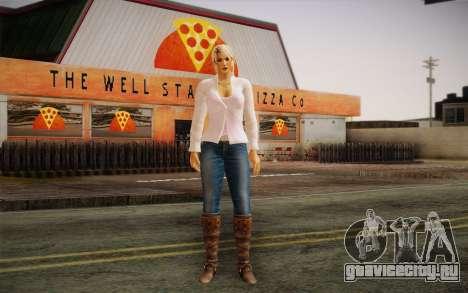 Sarah from DoA для GTA San Andreas