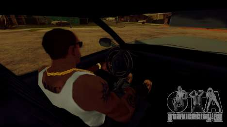 Вращающийся руль для стандартных автомобилей для GTA San Andreas