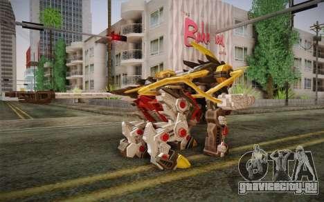 Energy Liger from Zoids для GTA San Andreas второй скриншот