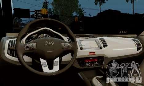 Kia Optima Stock для GTA San Andreas вид справа