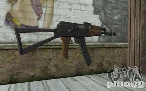 AK74 Rifle для GTA San Andreas второй скриншот