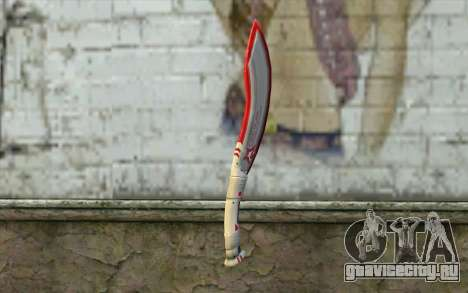 Fangblade Garena Star League from Point Blank для GTA San Andreas второй скриншот