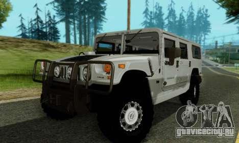 Hummer H1 Alpha для GTA San Andreas вид сверху