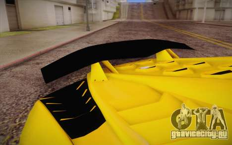 Zentorno из GTA 5 для GTA San Andreas вид справа