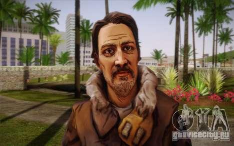 William Carver из The Walking Dead для GTA San Andreas третий скриншот