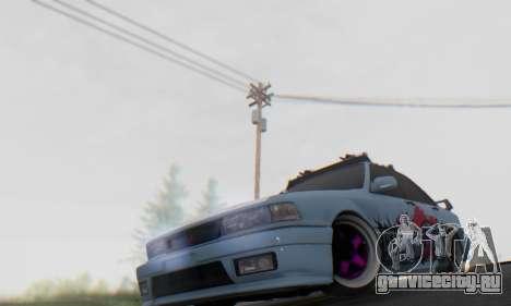Mitsubishi Galant Generation Rock 1992 для GTA San Andreas вид изнутри