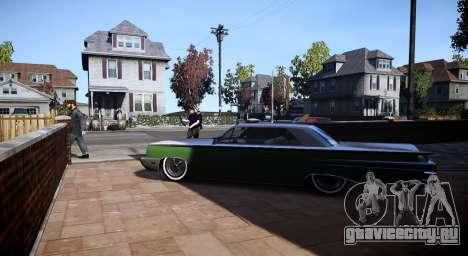 GTA Vice City Voodoo для GTA 4 вид сзади слева