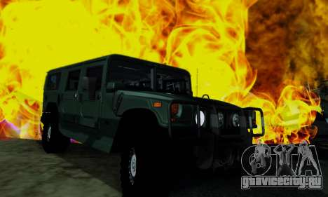 Hummer H1 Alpha для GTA San Andreas вид справа