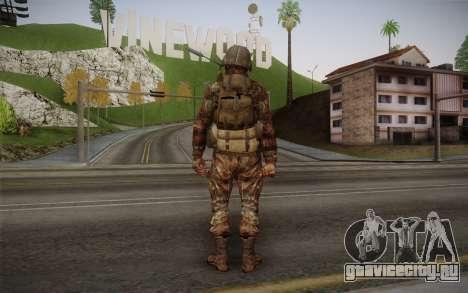U.S. Soldier v1 для GTA San Andreas второй скриншот