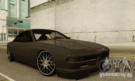 BMW 850CSI 1996 для GTA San Andreas вид сверху