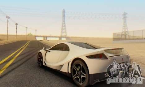 GTA Spano 2014 IVF для GTA San Andreas вид сбоку