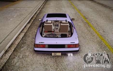 Mazda RX-7 GSL-SE 1985 HQLM для GTA San Andreas салон