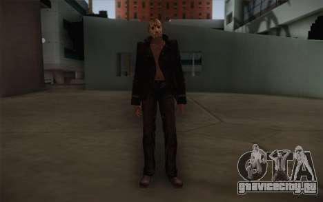 Jason Voorhees Modern Version для GTA San Andreas
