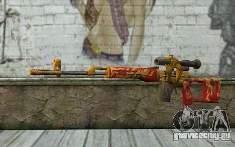 Снайперская Винтовка Драгунова (Point Blank) для GTA San Andreas