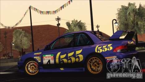 Subaru Impreza 22B STi 1998 для GTA San Andreas колёса