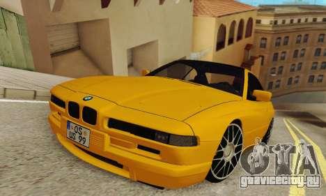 BMW 850CSI 1996 для GTA San Andreas вид сзади слева