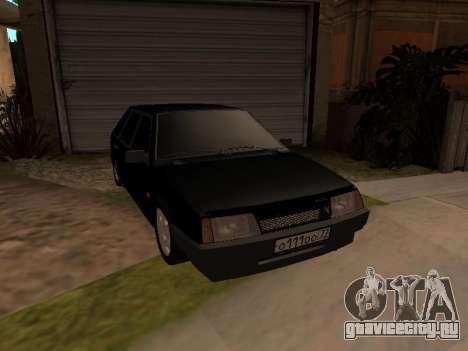ВАЗ 2109 Бандит V 1.0 для GTA San Andreas