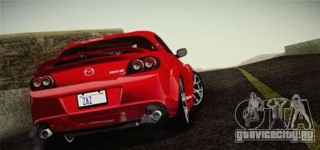 Mazda RX-8 Spirit R 2012 для GTA San Andreas вид слева