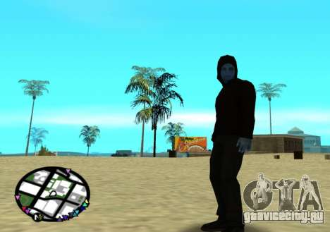 Электро из нового человека паука 2 для GTA San Andreas третий скриншот