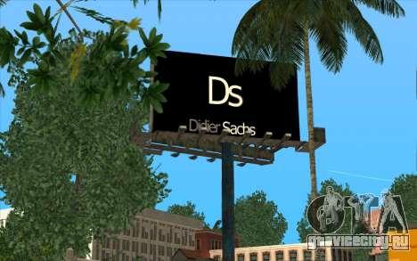 HQ Billiboards для GTA San Andreas