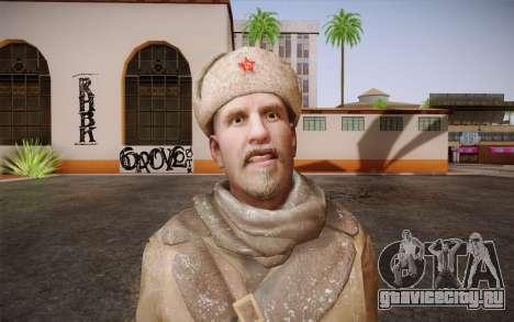 Viktor Reznov из CoD: Black Ops для GTA San Andreas третий скриншот