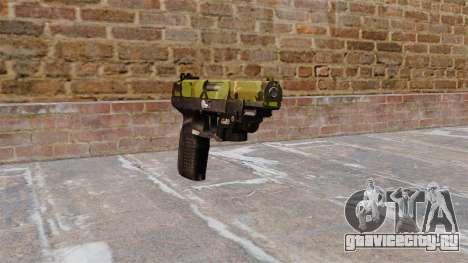 Пистолет FN Five-seveN LAM Woodland для GTA 4