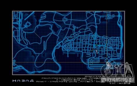 Карта в стиле Need For Speed World для GTA San Andreas третий скриншот