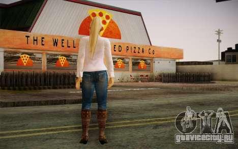 Sarah from DoA для GTA San Andreas второй скриншот