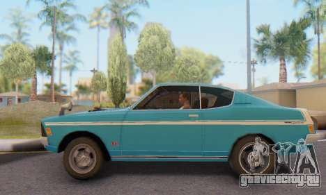 Mitsubishi Galant GTO-MR для GTA San Andreas вид слева