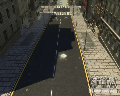 New Roads  (Textures - HD) для GTA 4 второй скриншот