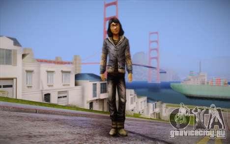Sarah из The Walking Dead для GTA San Andreas