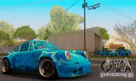 Porsche 911 Blue Star для GTA San Andreas