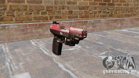 Пистолет FN Five-seveN LAM Red urban для GTA 4