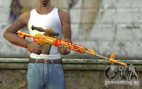 Снайперская Винтовка Драгунова (Point Blank) для GTA San Andreas третий скриншот