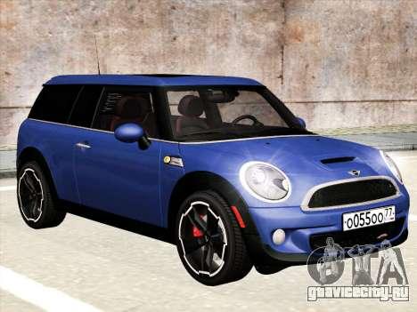 Mini Cooper Clubman JCW для GTA San Andreas
