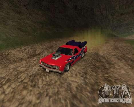 Rocket Picador GT для GTA San Andreas вид слева