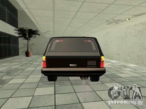 SWAT Original Cruiser для GTA San Andreas вид справа