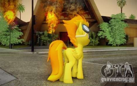 Spitfire для GTA San Andreas второй скриншот