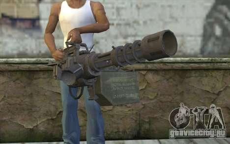 Новый Миниган для GTA San Andreas третий скриншот