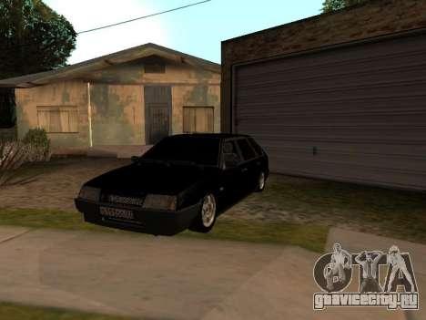 ВАЗ 2109 Бандит V 1.0 для GTA San Andreas вид сбоку
