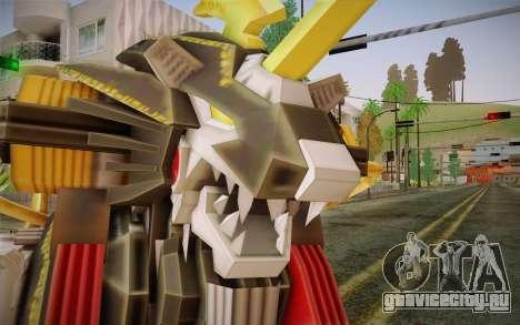 Energy Liger from Zoids для GTA San Andreas третий скриншот