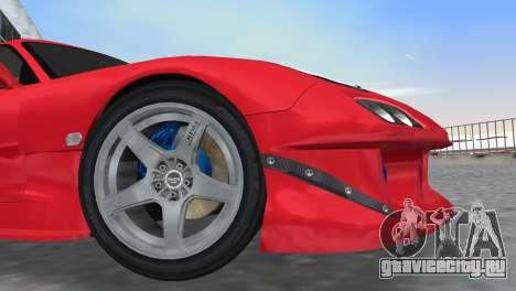 Mazda RX7 FD3S RE Amamiya Road Version для GTA Vice City вид изнутри