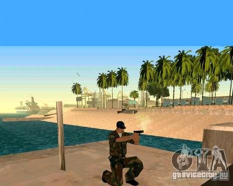 Glock из Cutscene для GTA San Andreas третий скриншот