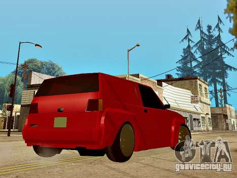 Club Sport для GTA San Andreas вид слева