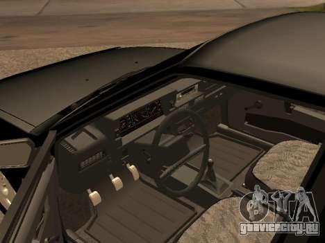 ВАЗ 2109 Бандит V 1.0 для GTA San Andreas вид сзади