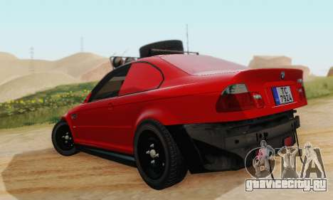 BMW M3 E46 Offroad Version для GTA San Andreas вид справа