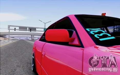 Toyota Chaser Tourer V для GTA San Andreas вид сбоку