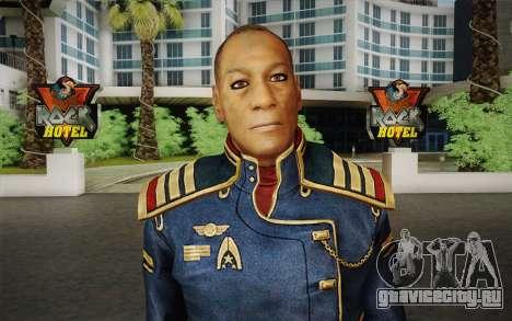 Captain David Anderson из Mass Effect series для GTA San Andreas третий скриншот