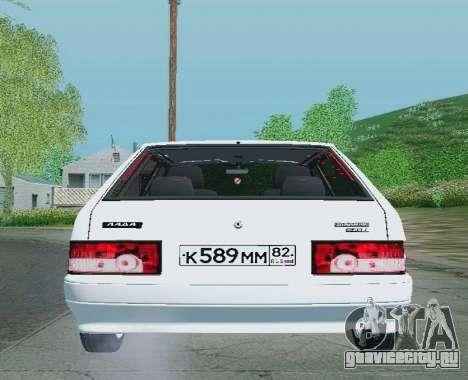 ВАЗ-21093 для GTA San Andreas вид справа